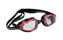 Aquasphere K180 transparent rot-schwarz